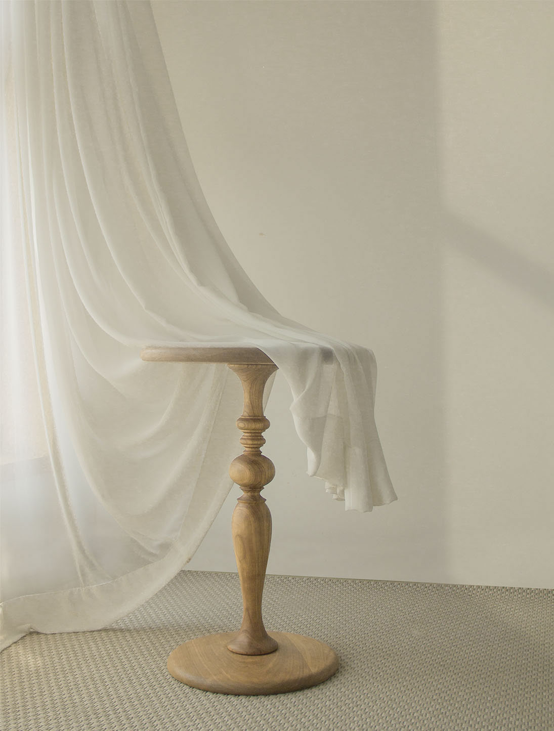 wood sidetable_ST002